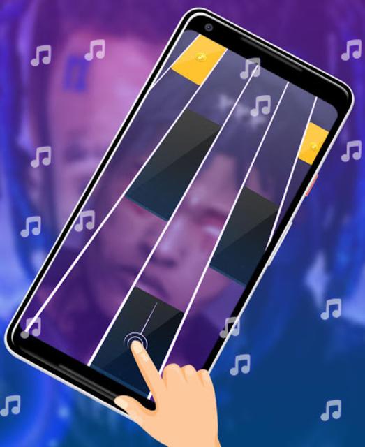 XXXTentacion Piano Tiles screenshot 2
