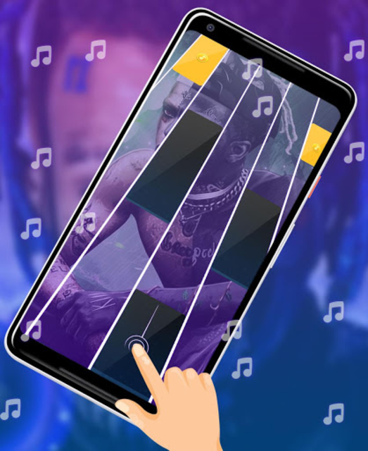 XXXTentacion Piano Tiles screenshot 3
