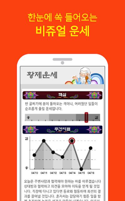 2020 황제운세 (무료운세, 신년운세, 정통사주, 토정비결) screenshot 3