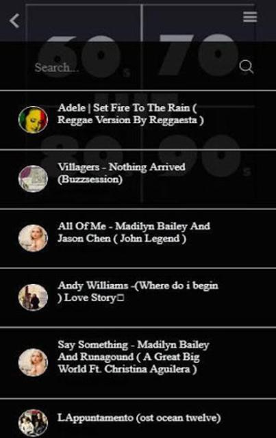 Free Oldies 60s 70s 80s 90s 00s Music Hits screenshot 4