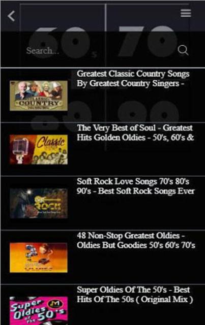 Free Oldies 60s 70s 80s 90s 00s Music Hits screenshot 5