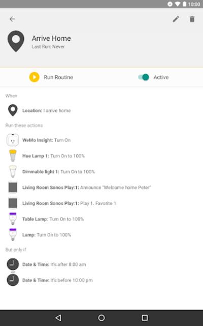 Yonomi - Smart Home Automation screenshot 15