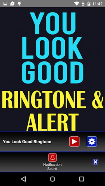 You Look Good Ringtone and Alert screenshot 3