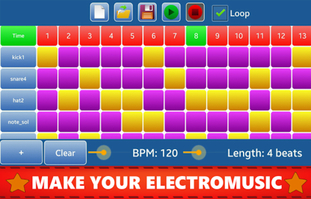Make Beats - Drum Pad (MP3 & WAV) screenshot 1