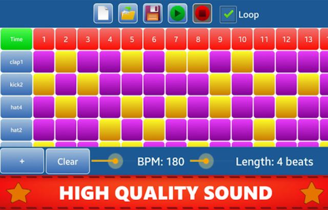 Make Beats - Drum Pad (MP3 & WAV) screenshot 2