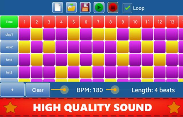 Make Beats - Drum Pad (MP3 & WAV) screenshot 5