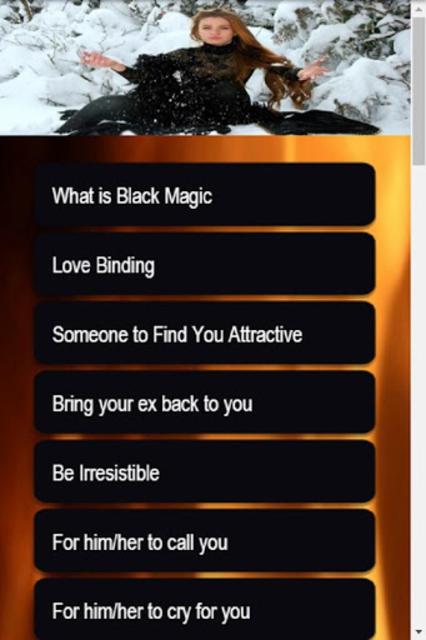 Black Magic Spells screenshot 2