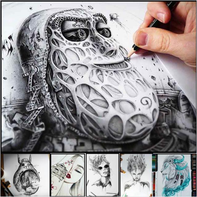 Pencil Sketch Drawing Ideas screenshot 1