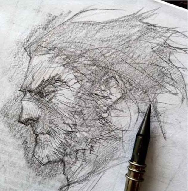 Pencil Sketch Drawing Ideas screenshot 5