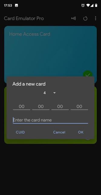 NFC Card Emulator Pro (Root) screenshot 3