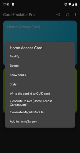 NFC Card Emulator Pro (Root) screenshot 4
