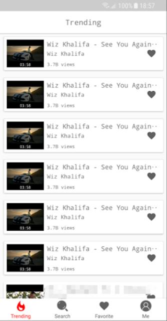 YMusic: Free YouTube music player, streaming screenshot 1