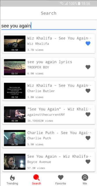 YMusic: Free YouTube music player, streaming screenshot 2