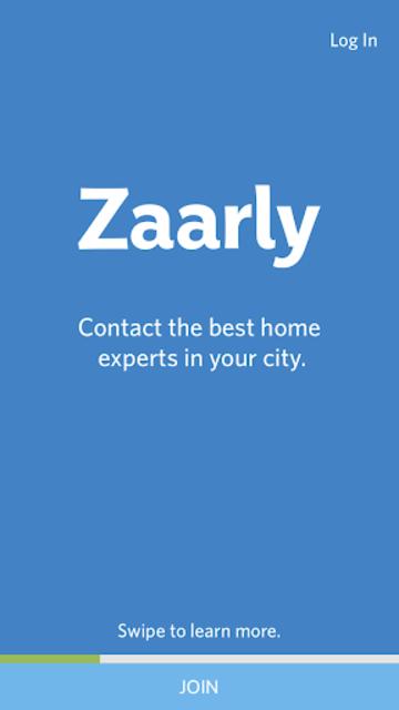 Zaarly screenshot 1