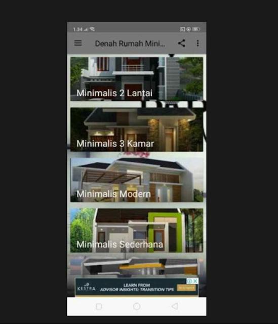 Denah Rumah Minimalis 2019 screenshot 2