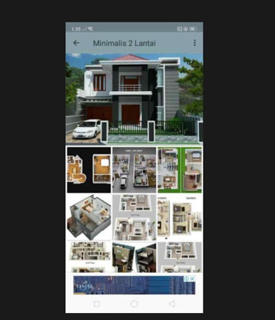 Denah Rumah Minimalis 2019 screenshot 3
