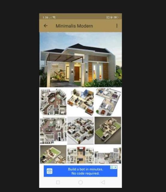 Denah Rumah Minimalis 2019 screenshot 5
