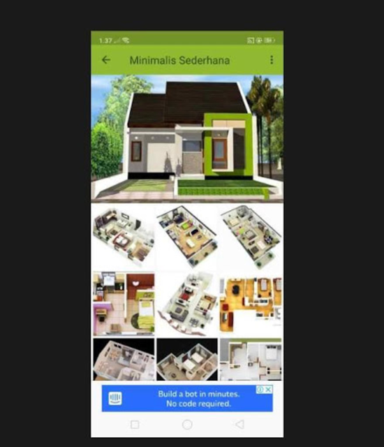 Denah Rumah Minimalis 2019 screenshot 6