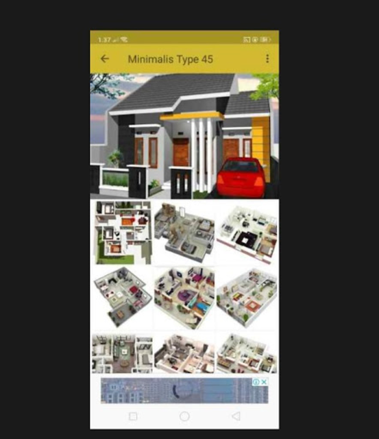 Denah Rumah Minimalis 2019 screenshot 7