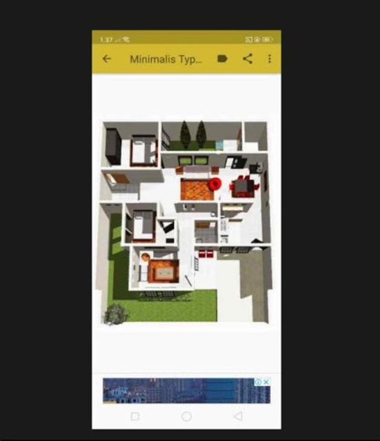 Denah Rumah Minimalis 2019 screenshot 8