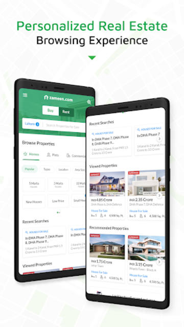 Zameen - No.1 Property Search and Real Estate App screenshot 1