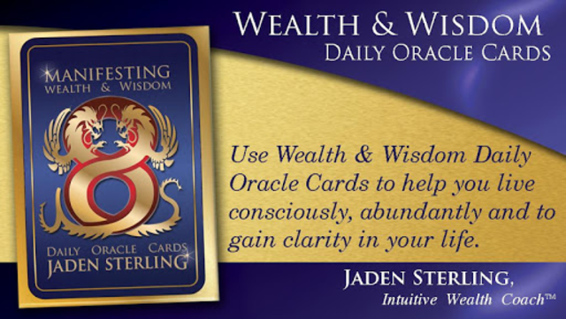 Wealth & Wisdom Oracle Cards screenshot 1
