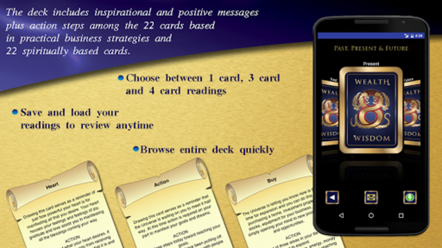Wealth & Wisdom Oracle Cards screenshot 2