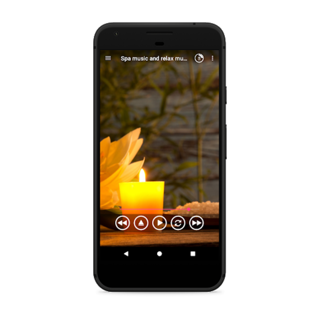 Spa music and relax music. Spa relaxation screenshot 1