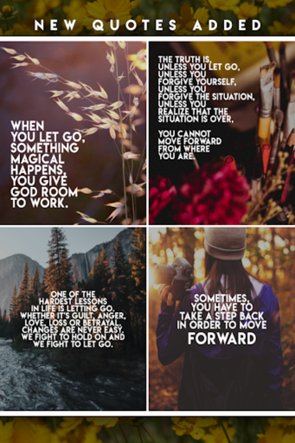 Letting Go Quotes screenshot 2