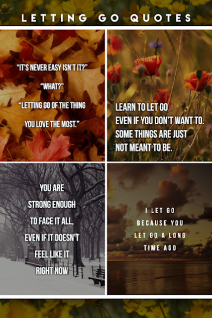 Letting Go Quotes screenshot 4