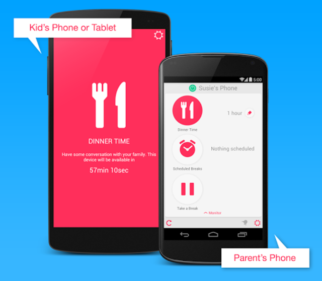 DinnerTime Plus (Parental App) screenshot 1