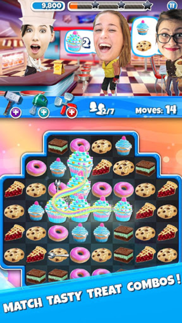 Crazy Kitchen: Match 3 Puzzles screenshot 1