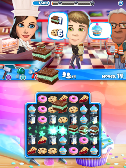Crazy Kitchen: Match 3 Puzzles screenshot 18