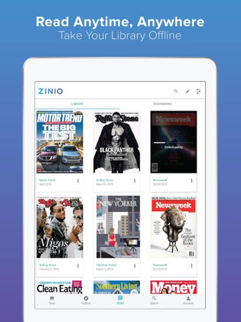 ZINIO - Magazine Newsstand screenshot 7