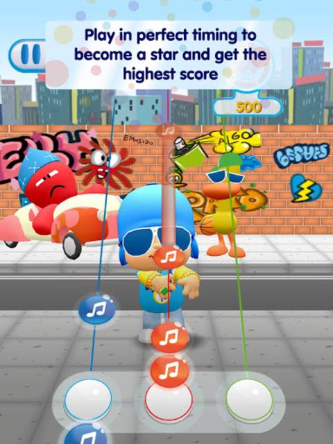 Pocoyo Tap Tap Dance screenshot 10