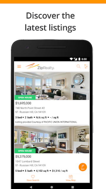 ZipRealty Real Estate & Homes screenshot 2