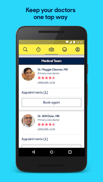 Zocdoc Find A Doctor & Book On Demand Appointments screenshot 7