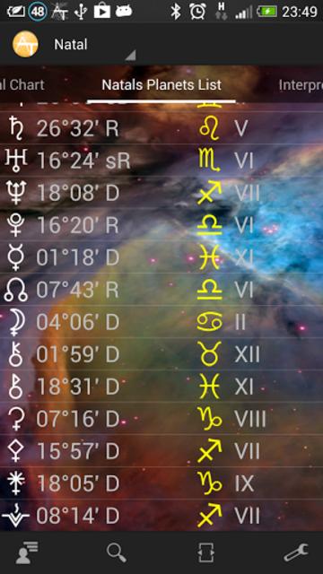 AstroTab Pro screenshot 2