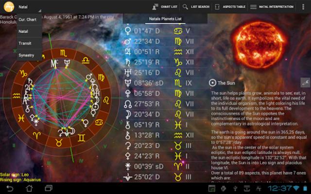 AstroTab Pro screenshot 6