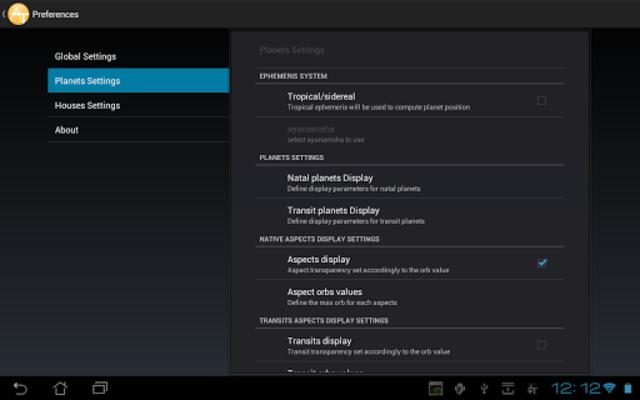 AstroTab Pro screenshot 8