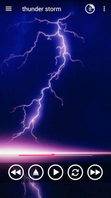 Thunder Sounds Sleep Sounds screenshot 4