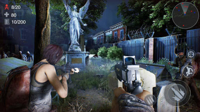 Zombie 3D Gun Shooter: Free Survival Shooting Game screenshot 24