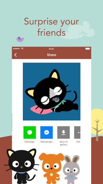 About: Chococat StoryGIF – GIF Maker (Google Play version