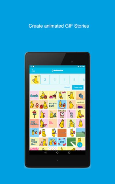 About: Larva StoryGIF – GIF Maker (Google Play version) | Larva