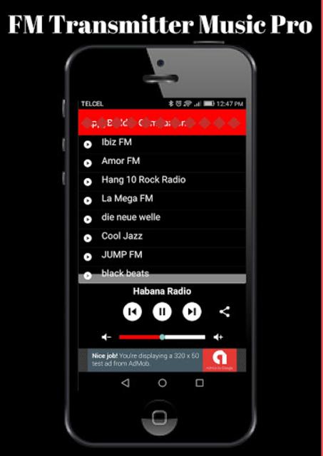FM Transmitter Music Pro screenshot 1