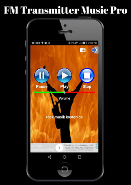 FM Transmitter Music Pro screenshot 2