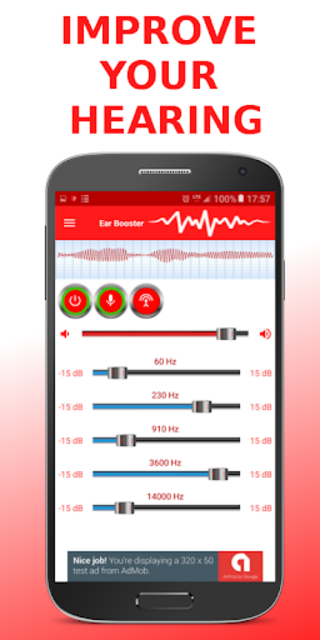 Ear Booster - Better Hearing: Mobile Hearing Aid screenshot 1