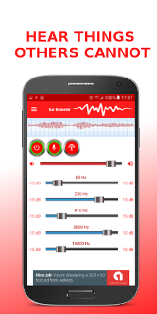 Ear Booster - Better Hearing: Mobile Hearing Aid screenshot 2