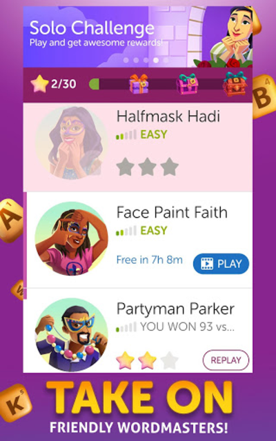 Words With Friends 2 - Board Games & Word Puzzles screenshot 15