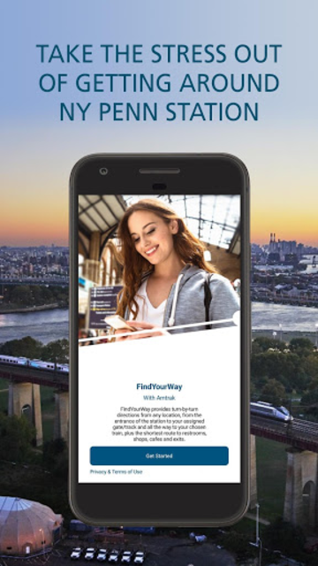FindYourWay with Amtrak screenshot 1